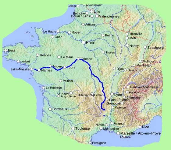 Flüsse Frankreich